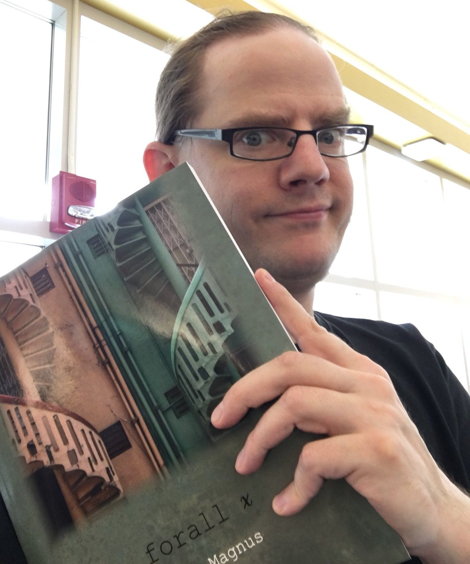 P.D. holds a copy of forall x.